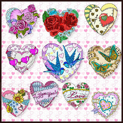 Love Pillows 10 Machine Embroidery Designs Cd 4 Sizes Included