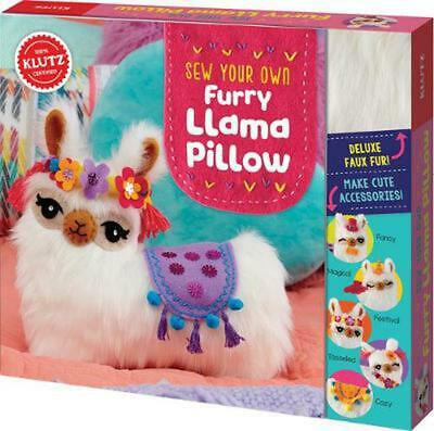 Sew Your Own Furry Llama Pillow by Editors of Klutz Book & Merchandise Book Free
