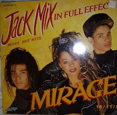 LP – Mirage – Jack Mix In Full Effect - 1988