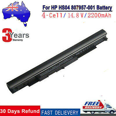 NEW For HP 240 250 255 G4 G5 Notebook Battery 807956-001 807957-001 HS03 HS04