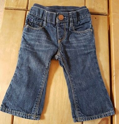 Baby Gap Dark Blue Lined Jeans 6/9 Months combine postage create your own bundle