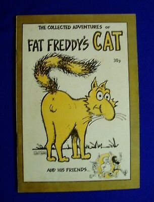 Fat Freddy's Cat : World First Edition. 1975. UK publication. FN.