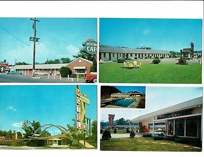 4 Card Tennessee Lot, Motels, Brentwood, Clinton, Pigeon Forge, Monteagle!