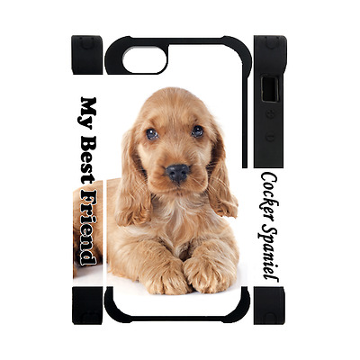 COCKER SPANIEL Photography Dog Puppy Lovers Gift 3D Rubber Polymer Iphone 5 Case