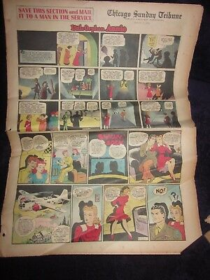 Chicago Sunday Tribune-3-7-1943-Chester Gould Dick Tracy-Sunday Comic Section