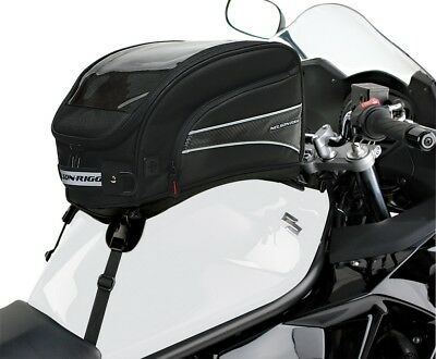 Nelson-Rigg CL-2016ST Journey XL - Strap Mount Tank Bag - Black