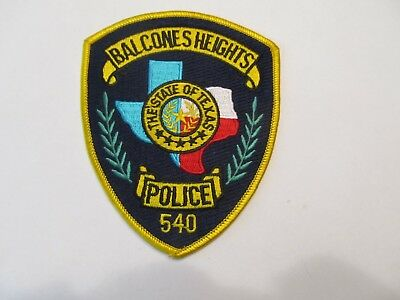 Texas Balcones Heights Police Patch