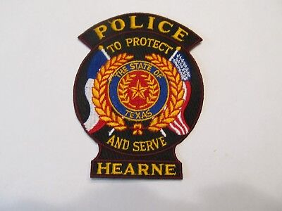 Texas Hearne Police Patch