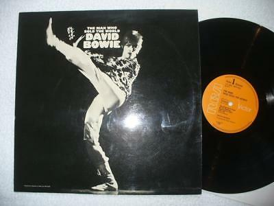 "David Bowie ""the Man Who Sold The World"" 1972 Ger Original Lp Laminated Cover"