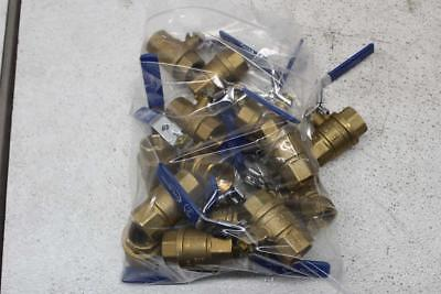 LOT OF 15 - Chem Oil 600 Wog - 3/4-In - Brass - Ball Valves