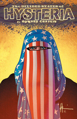 the divided states of hysteria  howard chaykin  tpb graphic novel  image comics