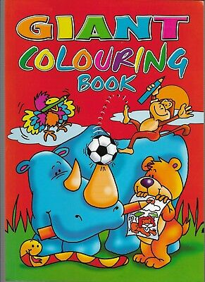 Giant Colouring Book 144 Pages To Colour Ideal Gift Keep The Kids Happy Book 2
