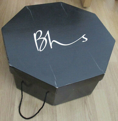 Vintage British Home Stores Large Hat Box