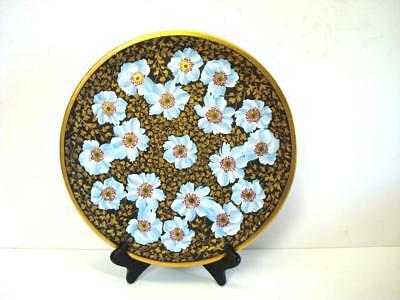 Vintage G Dumas Limoges France Hand Painted Artist Signed Charger Plate 12 1/2''