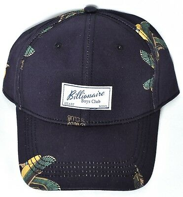 1eac0c2dd7b18 BILLIONAIRE BOYS CLUB BB Egyptian Winged Adjustable Hat Cap Black 881-3800   NEW