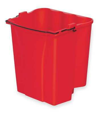 Mop Bucket Accessory,4-1/2 gal.,Red RUBBERMAID FG9C7400RED