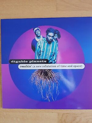 DIGABLE PLANETS Reachin'  Re-Issue Vinyl