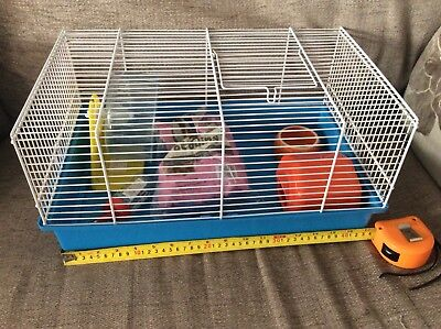 Ferpalst Hamster Cage With House,bowl,bottle,wheel .