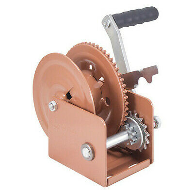 DUTTON-LAINSON DLB1205A Hand Winch,Spur Gear,Brake,1200 lb.