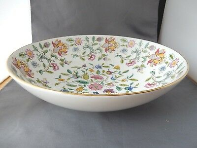 Lovely Large Fruit Bowl by Minton in the Stunning Haddon Hall Design
