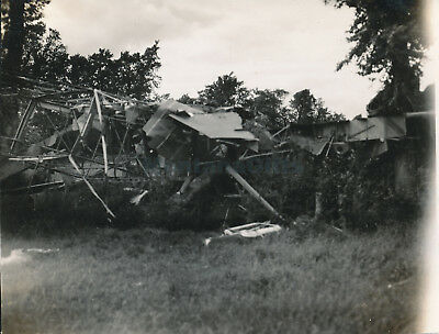 1944 D-Day Normandy USAAF 435th TCG 77th TCS Glider airplane crash Photo #19