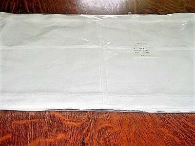 Vtg.Linen Placemats100%LINEN12pcWhiteHemstitched DrwnThrd NEW- NEVER USED!ExCond