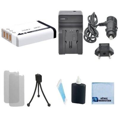 NP-95 Battery + Home/Car Charger for Fuji FinePix X-S1 F30 F31fd X100 X100S