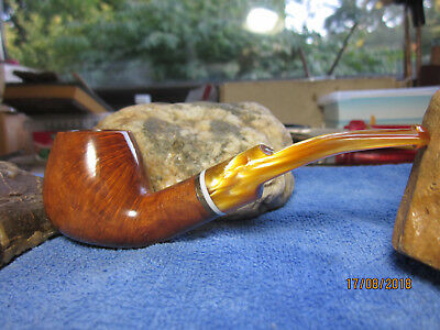 Estate Pipa Pipe Pfeife  Stefano EXCLUSIVE , SELECTED BRIAR , 9mm Filter