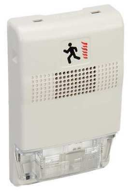 Chime Strobe,White EDWARDS SIGNALING EG1-CVM