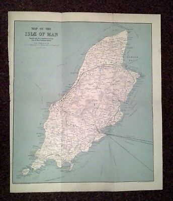 Isle Of Man Map Travel Guide Cunningham Camp Majestic Lido Electric Railway