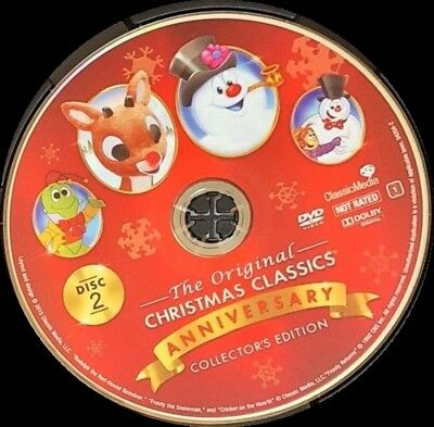 the original christmas classics dvd anniversary collectors edition disc only