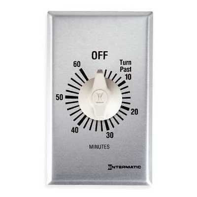 INTERMATIC FF60M Timer,Spring Wound, 0 to 60 min.