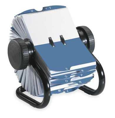 Rotary Card File, 200 Ct, Metal ROLODEX 67236