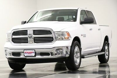 Ram 1500 4X4 SLT Camera Bright White Crew 4WD Used Like New 5.7L V8 Hemi Cab Bluetooth 16 17 14 2016 15 Low Miles Truck