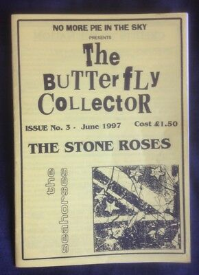 THE STONE ROSES Butterfly Collector fanzine June 97 RARE. Ian Brown Squire
