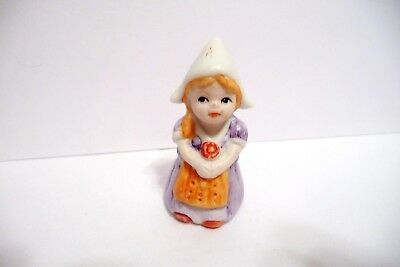 Thimble Vintage Bisque Msr Imports '80 Figural Of A Dutch Girl
