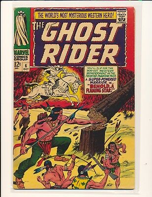 Ghost Rider # 6 - Ayers cover & art VG/Fine Cond.