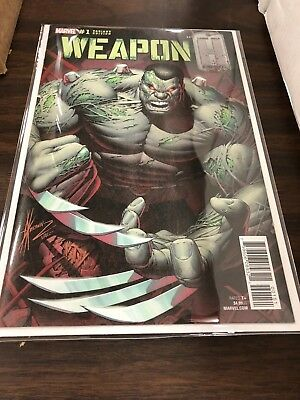 Weapon H #1 Dale Keown Variant