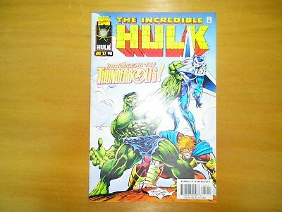 The Incredible Hulk #449 (Jan 1997) First Appearance of Thunderbolts High Grade