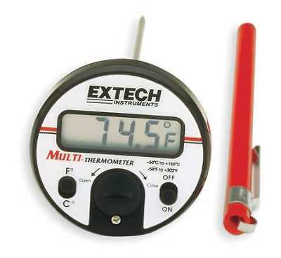 Digital Pocket Thermometer,5 In.,Plastic EXTECH 392050