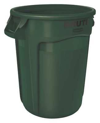 RUBBERMAID FG262000DGRN Brute 20 gal. Green Polyethylene Round Utility Container