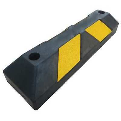 Parking Curb,6in.W,4in.H,22in.L,Rubber ZORO SELECT 29NH30