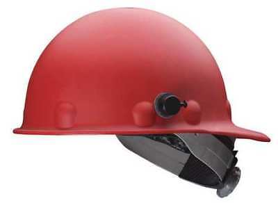 Hard Hat,Front Brim,G/C,SwingStrap,Red FIBRE-METAL BY HONEYWELL P2AQSW15A000