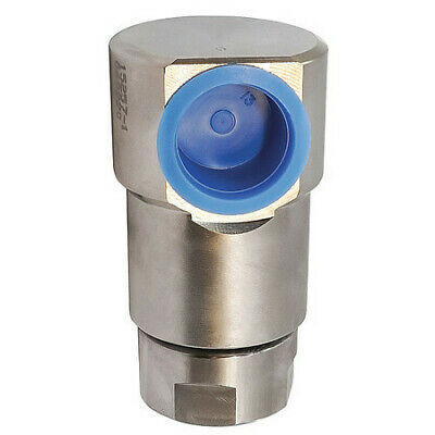 COXREELS 15257-1 Swivel,Zinc Plated Steel 1 InNPT Inlet