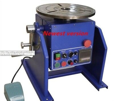 For Mig Tig Welder Positioner 100Bls Without Jaw Chuck 50Kg Welding Automatic ym