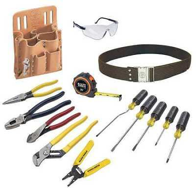 KLEIN TOOLS 80014 General Hand Tool Kit,No. of Pcs. 14