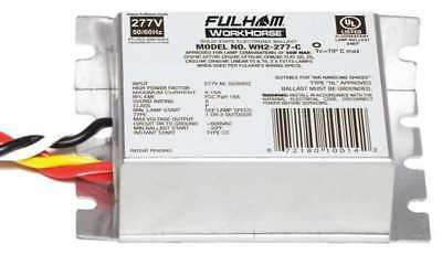 5 to 35 Watts, 1 or 2 Lamps, Electronic Ballast FULHAM WORKHORSE WH2-277-C