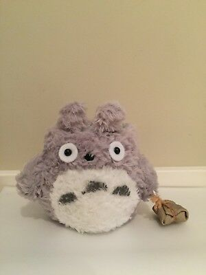 New Grey Totoro Rare Collectable Phone Holder Decoration
