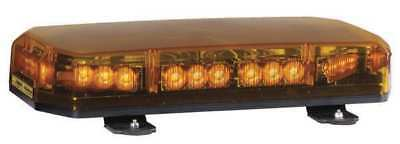 Lo Mini Lightbar,LED,Ambr,Perm,17-5/8 In CODE 3 SHL10A