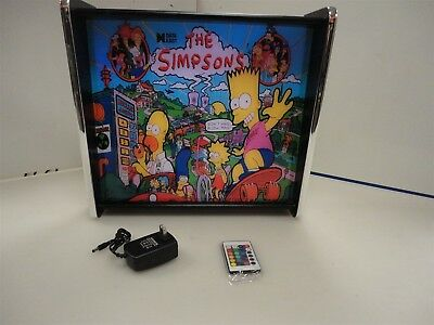 The Simpsons Data East Pinball Head LED Display light box